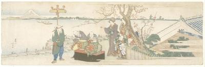 Daikagura Performers, 1801-1805 by Katsushika Hokusai