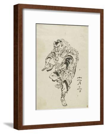 Danseur de Shishi-mai (danse du lion)