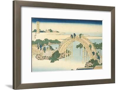 Drum Bridge of Kameido Tenjin Shrine, Series Wondrous Views of Famous Bridges, 19th century