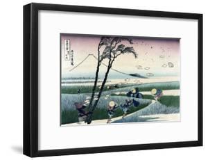 Ejiri in Suruga Province by Katsushika Hokusai