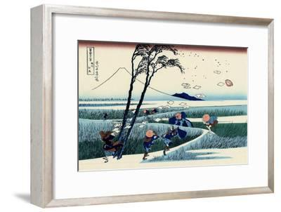 Ejiri in the Suruga Province, c.1830