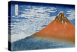 Fine Wind, Clear Morning (Gaifu Kaisei) by Katsushika Hokusai