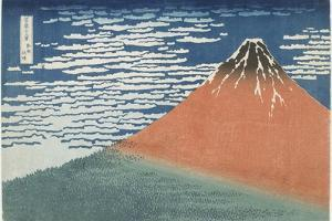 Fine Wind, Clear Weather, 1831-1834 by Katsushika Hokusai