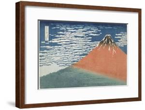 Fine Wind, Clear Weather, 1831-1834 by Katsushika Hokusai