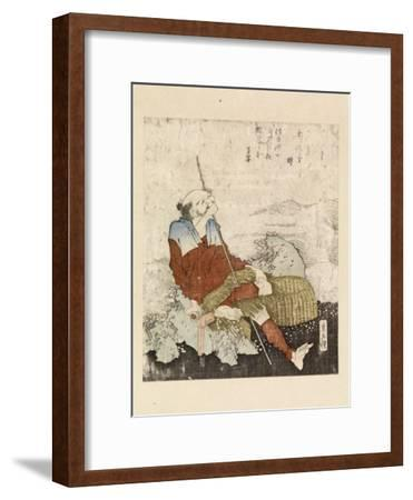 Fisherman Smoking Beside a Stream, C.1835