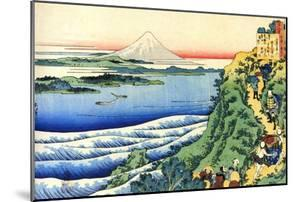 From the Series Hundred Poems by One Hundred Poets: Yamabe No Akahito, C1830 by Katsushika Hokusai