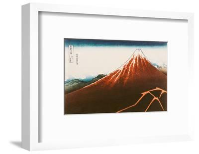 """Fuji Above the Lightning"""", from the Series """"36 Views of Mt. Fuji"""""""