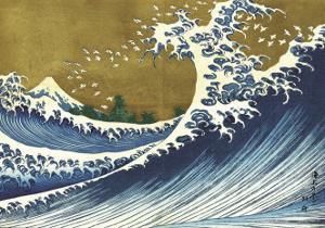 Great Wave (from 100 views of Mt. Fuji) by Katsushika Hokusai