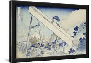 In the Totomi Mountains', from the Series 'Thirty Six Views of Mount Fuji' by Katsushika Hokusai