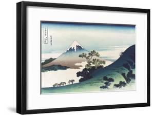 Inumi Pass in the Kai Province by Katsushika Hokusai
