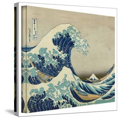Katsushika Hokusai 'The Great Wave of Kanagawa' Gallery Wrapped Canvas