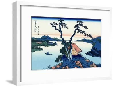 Lake Suwa in the Shinano Province, 1830-1833