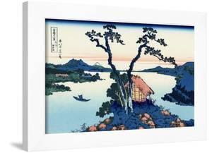 Lake Suwa in the Shinano Province by Katsushika Hokusai