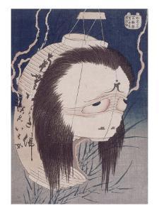 Le fantôme d'Oiwa by Katsushika Hokusai