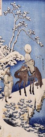 Le poète chinois Su Dongpo by Katsushika Hokusai