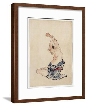 Man Stretching, Published 1830-50