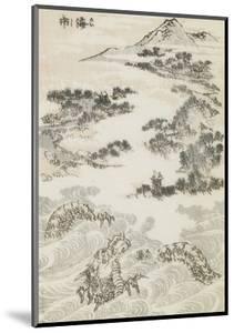 Manga, volume 3 : les lutteurs by Katsushika Hokusai