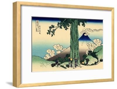 Mishima Pass in Kai Province, c.1830