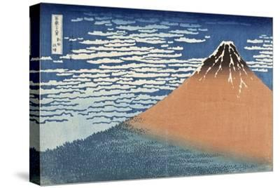 Mount Fuji in Clear Weather (also known as Red Fuji), c.1830