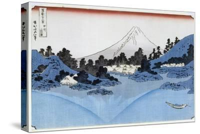 Mount Fuji Reflected in Lake Misaica, from the Series '36 Views of Mount Fuji' ('Fugaku…
