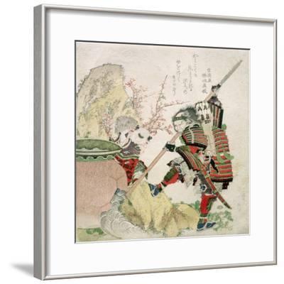 Sima Wengong (Shiba Onko) and Shinozuka, Lord of Iga (Shinozuka-Iga-No-Teami), 1821