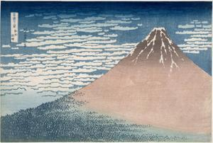 South Wind, Clear Dawn, from the Series '36 Views of Mount Fuji', C.1830-1831 by Katsushika Hokusai