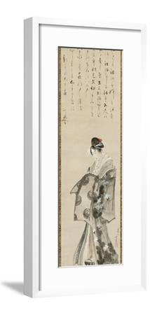 Standing Courtesan, 1801-05