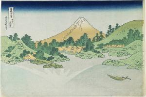 Surface of the Water at Misaka in Koshu Province, 1831-1834 by Katsushika Hokusai