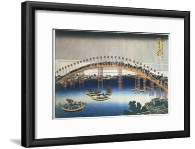 Temma Bridge, Osaka, Japan, 1830