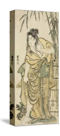 The Actor Ichikawa Komazo as a Woman with Dishevelled Hair, C.1791