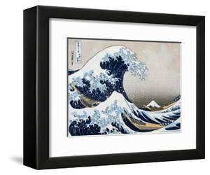 The Great Wave at Kanagawa (from 36 views of Mount Fuji), c.1829 by Katsushika Hokusai