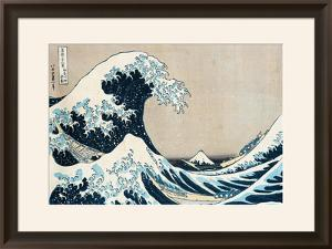"The Great Wave of Kanagawa, from the Series ""36 Views of Mt. Fuji"" (""Fugaku Sanjuokkei"") by Katsushika Hokusai"