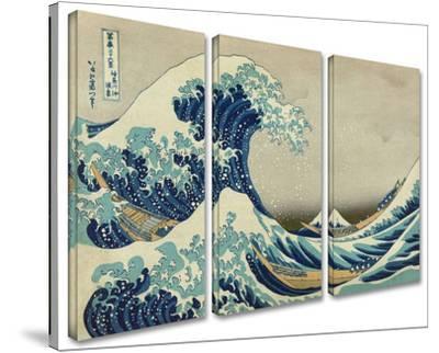 The Great Wave Off Kanagawa 3-piece set