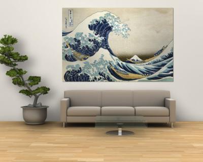 The Great Wave Off Kanagawa , c.1829 by Katsushika Hokusai