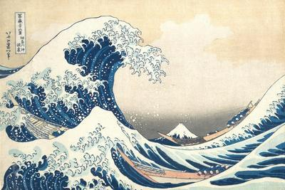 The Great Wave off Kanagawa, c.1830