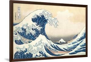 The Great Wave off Kanagawa, c.1830 by Katsushika Hokusai