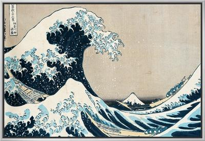 "The Great Wave Off Kanagawa, from the Series ""36 Views of Mt. Fuji"" (""Fugaku Sanjuokkei"") by Katsushika Hokusai"