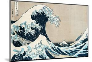 "The Great Wave Off Kanagawa, from the Series ""36 Views of Mt. Fuji"" (""Fugaku Sanjuokkei"") by Katsushika Hokusai"