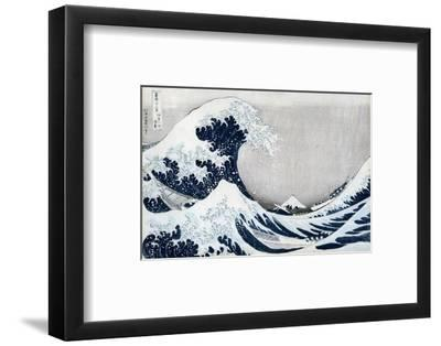 The Great Wave Off Kanagawa, from the Series '36 Views of Mt. Fuji' ('Fugaku Sanjuokkei')