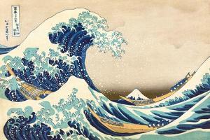 The Great Wave off Kanagawa by Katsushika Hokusai