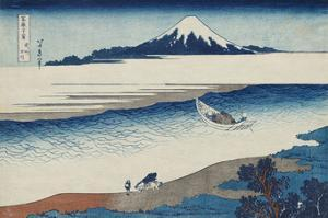 The Jewel River In Musashi Province by Katsushika Hokusai
