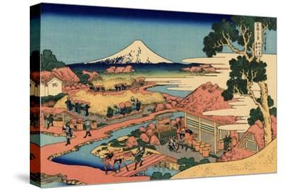 The Tea Plantation of Katakura in the Suruga Province, c.1830