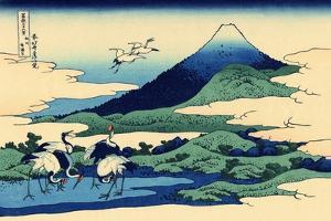 Umegawa in Sagami Province, c.1830 by Katsushika Hokusai