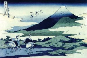 Umegawa in Sagami Province by Katsushika Hokusai