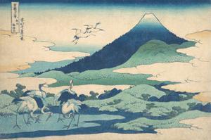 Umezawa Manor in Sagami Province by Katsushika Hokusai