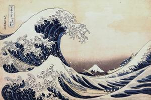 Under the Wave Off Kanagawa, 1831-1834 by Katsushika Hokusai