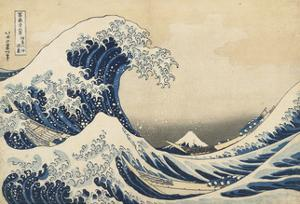 Under the Wave Off Kanagawa, 1831-34 by Katsushika Hokusai