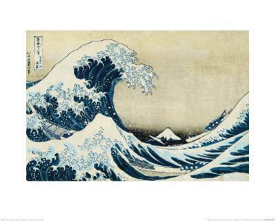 Under the Wave, Off Kanagawa by Katsushika Hokusai