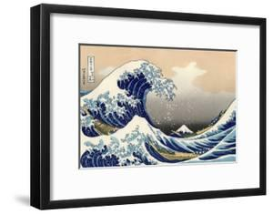 Under the Wave Off Kanagawa by Katsushika Hokusai