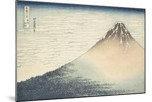 Vent frais par matin clair ou Le Fuji rouge by Katsushika Hokusai
